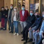Die CDU informiert sich vor Ort im Andreasstift. Foto: CDU Worms /Lohr